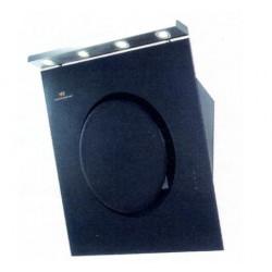 24 斜裝式抽油煙機[黑強化玻璃] (WRH60GB)