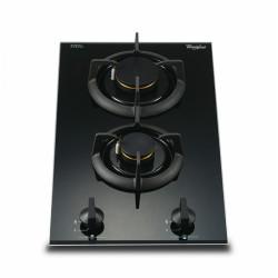雙頭嵌入式煤氣煮食爐(D) (AVK230B-TG)