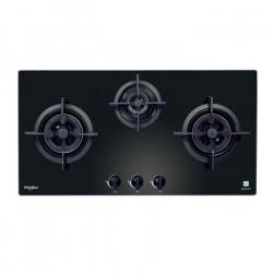 3頭嵌入式煤氣煮食爐[黑色] (AWK335B-TG)